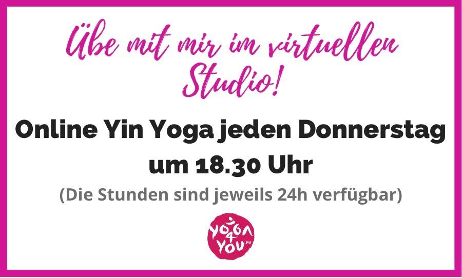 Online Yin Yoga mit Franzi